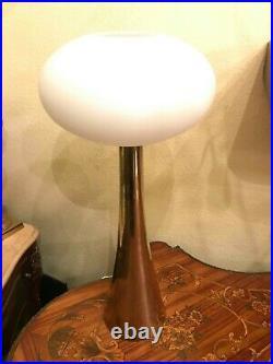 1930s RARE Gorgeous Swedish Nordic Brass Electric Lamp Eskilstuna