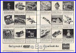 1950 SILVERTONE Lustrex Plastic Ukulele RARE Mid Century Modern Space Age Design
