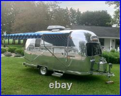 1969 18ft. Airstream Caravel Land Yacht Mid Century Modern Trailer Rare