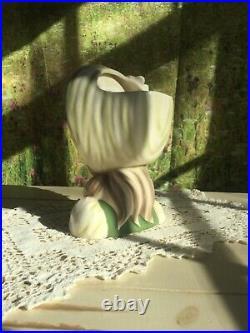 7 Lady Head Vase. Little Miss Muffet. Headvase. RARE