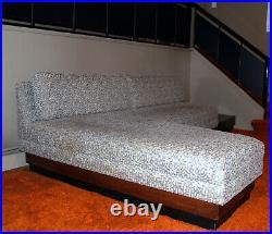 Adrian Pearsall Cloud Platform Sofa Mid Century Modern Rare early L Shape
