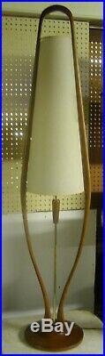 Adrian Pearsall Style DANISH Mid Century Modern MCM Modeline FLOOR LAMP RARE