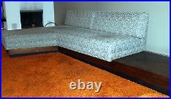 Adrian Pearsall Vintage Mid Century modern Sofa By Craft Associates Rare L-Shape
