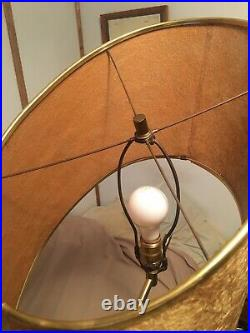 Antique Mid Century Modern Majestic Z Floor Lamp 1950s Atomic Abstract RARE