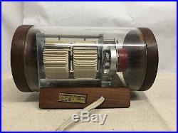 Arthur Umanoff Rare Flip Clock Howard Miller Mid Century Modern