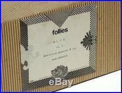BOREK SIPEK Driade Follie Alix flatware cutlery silver metal rare