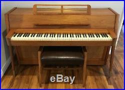 Beautiful and Rare 1960s Mid-Century Modern Baldwin Acrosonic Piano