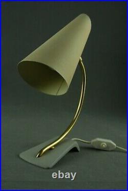COSACK Mid Century Table Lamp Atomic Kalmar Stilnovo Vintage 1950s 60s 70s RARE