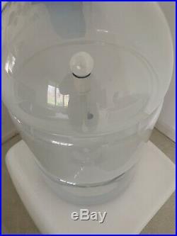 Carlo Nason Mazzega Sfumato Table Lamp RARE! Aulenti Artemide Space Age Panton