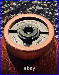 DANSK MCM -Rare- Teak Pepper Mill And Salt Shaker Quistgaard Denmark IHQ