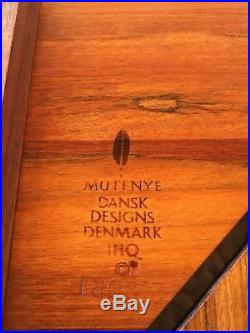 Danish Modern Quistgaard Jhq Ihq Rare Woods Dansk Designs Denmark Mutenye Tray