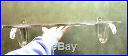 Dorothy Thorpe Acrylic Lucite Free Float Wall Shelf Mid Century Modern RARE