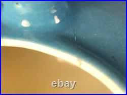 Eva Zeisel Town & Country Red Wing Dusk Blue Soup Tureen RARE Mid Century Modern