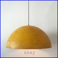 Extremely Rare MID CENTURY MODERN Fiberglass PENDANT LAMP'DOME', 1960s, Germany