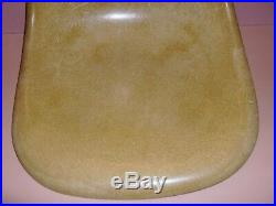 Herman Miller Fiberglass Chair Green Shell Only Rare Color Eames Retro