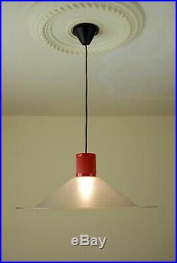 IGUZZINI Pendant Lamp Vintage Guzzini Post Modern Eames Panton Rare 70s 80s Era