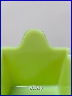 Jeannette Glass Co Jadite / Jadeite / Jade-ite RARE / SCARCE Salt Box (No Lid)