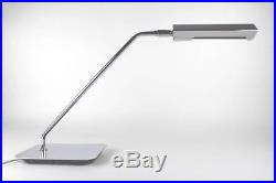 Koch And Lowy Chrome Cantilevered Articulated Angular MID Century Desk Lamp Rare