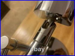 Koch & Lowy Chrome MID Century Modern Table Lamp Desk Lamp Pair Rare