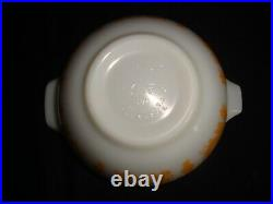 Lovely Vintage Pyrex Pumpkin Amish Butterprint Super Rare Full Set #441-444