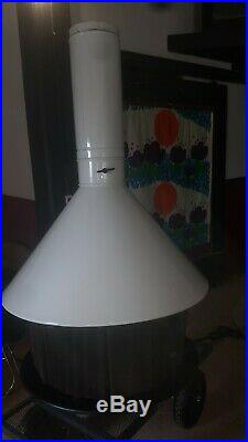 MCM RARE Hanging/Suspended Space Age Fireplace Malm carouse Imperial Duchess