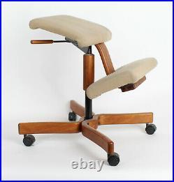 MCM Vintage Balans Varier Kneeling Chair Adjustable Ergonomic Peter Opsvik RARE