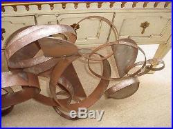 MID Century Atomic C. Jere Sculpture Very Rare Huge Brutalist Iron Sculpture