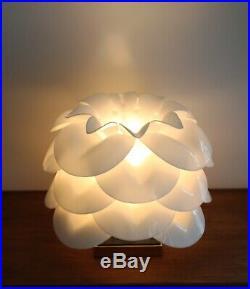 Mid Century Hollywood Regency Rare Acrylic Rougier Table Lamp