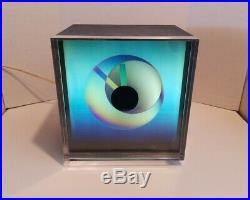 Mid-Century Modern 1970's KIRSCH/HAMILTON PRISMA Clock. Rare! Working Great