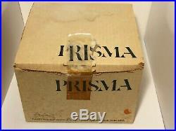 Mid-Century Modern 1970's KIRSCH/HAMILTON PRISMA Clock Rare withBox