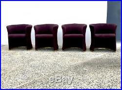 Mid Century Modern Dining Chairs- Milo Baughman for Thayer Coggin- RARE SET