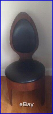 Mid Century Rare Henry Glass Spoon Chair