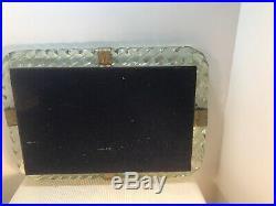 Murano Glass VENINI Torciglioni TWISTED ROPE Mirror Frame CARLO SCARPA MCM Rare