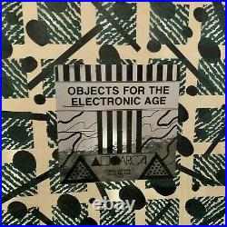 NATHALIE DU PASQUIER Rare OBJECTS FOR THE ELECTRONIC AGE (Memphis Sottsass) 1983