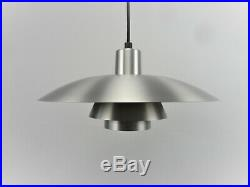 PH 4/3 Poul Henningsen by Louis Poulsen Aluminium RARE Pendant Lamp