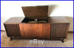 Packard Bell Stereo Console Credenza Vintage Mid Century Modern Danish Rare