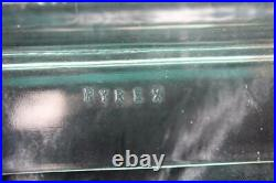 RARE! 1958 Promotional Pyrex Fred Press FLAME Casserole 550C 575B Bake Ware