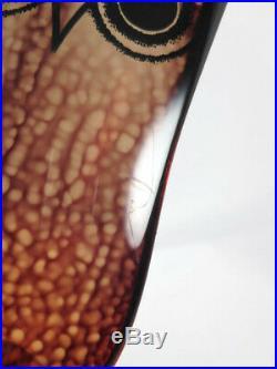 RARE Abraham Palatnik Large Lucite Owl Acylic Optic Art PAL Mid Century Modern