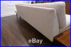 RARE Adrian Pearsall Boomerang leg Platform Sofa