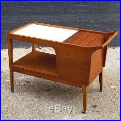 RARE Arthur Umanoff Bar Cart from Cavelier's 1957 Dimension Group