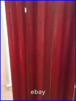 RARE Eames red FSW Herman Miller screen