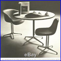 RARE Early Model Herman Miller Eames Universal Table Base Only Vintage La Fonda
