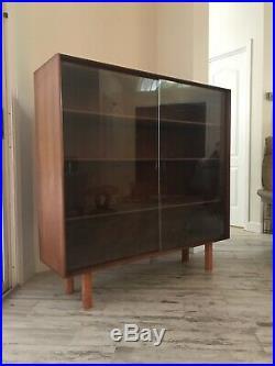 RARE Johannes Aasbjerg Danish Teak Mid Century Modern Display Shelf Denmark