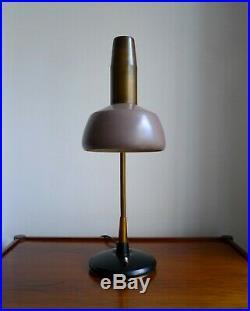 RARE MID-CENTURY OSCAR TORLASCO TABLE LAMP for LUMI MILANO 50s Italian Vintage