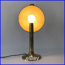 RARE Mid Century FLORIAN SCHULZ Desk Light TABLE LAMP Art Deco BAUHAUS, 1970s