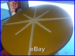 RARE Mid Century Modern 1960s Fiberglass Space Age Fibrella Patio Set