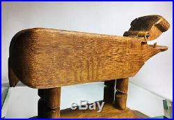 RARE Mid Century Modern Kay Bojesen Denmark Signed Tark Large Danish Antique