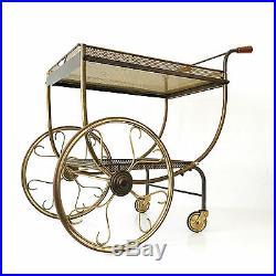 RARE Mid Century Modern SVENSKT TENN Trolley BAR CART Sweden, Josef Frank ERA