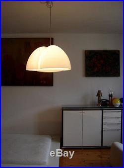 RARE Mid Century Modern XL PENDANT LIGHT Lamp'TRICENA' by INGO MAURER 1968