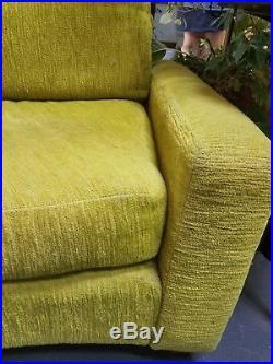 RARE Milo Baughman Round Sectional Sofa Mid Century Modern MCM Shawnee Penn LA